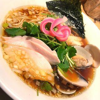 蛤SOBA(むぎとオリーブ 銀座店)