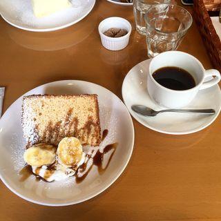 バナナシフォンケーキ(kate coffee (ケイトコーヒー))