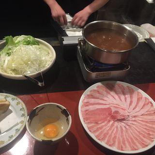 豚すき(間人 代官山店 (MANIN まにん))