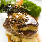 牛肉とフォアグラのロッシーニ