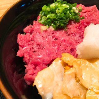 炙りはらすとなかおちの2色丼(鮓菜 浅乃 (すしさい あさの))
