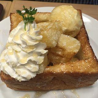 ハニートースト(CAFE&BAKERY MIYABI 神保町店 (カフェ アンド ベーカリー ミヤビ))