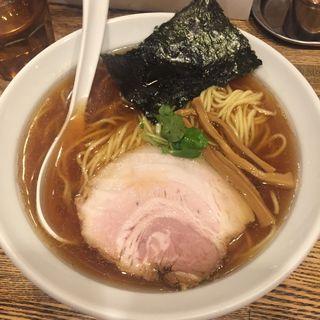 平子煮干しそば(新橋 纏 (まとい))