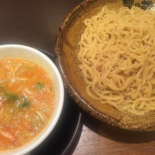 濃厚海老つけ麺(越後秘蔵麺 無尽蔵 しながわ家 )