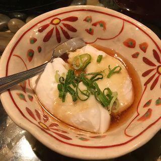 じーまみ豆腐(金魚 本店 (きんぎょ))