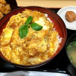 鶏カツ丼(鶏三和 LUCUA大阪店 )