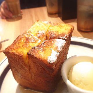 メイプルフレンチトースト(ワイアードカフェ 京都ポルタ店 (WIRED CAFE))