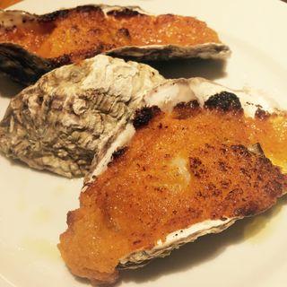 雲丹クリーム焼き牡蠣(フィッシュハウス オイスターバー (FISH HOUSE OYSTER BAR))