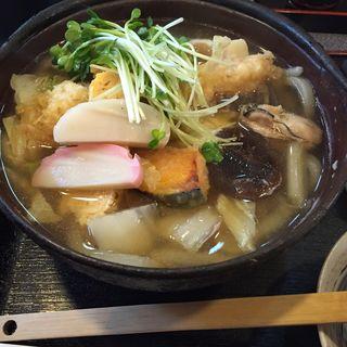 鍋焼きうどん(敷島 (手打ちうどん))