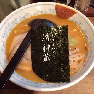 にんにくとんこつ味噌ラーメン(らーめん将神蔵 壱号店 (しょうかぐら))