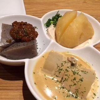 洋風おでんの3種盛り(釜たけうどん 八重洲北口店 )