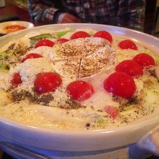 豆乳カマンベールチーズ鍋(Pon de bar HEJIRA)