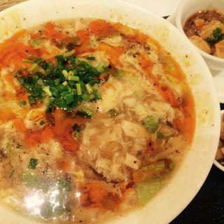 酸辣湯麺(天厨菜館 渋谷店 (テンツウサイカン))