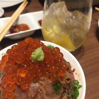 牛とろいくら丼(牛8 錦糸町店 (ウシハチ))