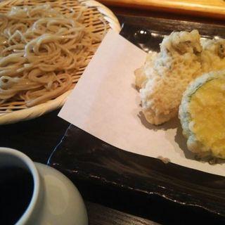 牡蛎天ぷらとせいろ(なかやしき)