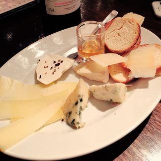 チーズお任せ盛合せ(MARZAC 7 (マルザックセブン))