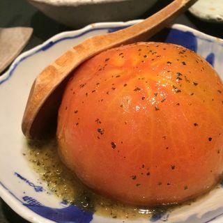 トマト-バジルソース(焼野菜 五十家 (いそや))