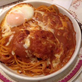 カニコロッケスパゲティ(モンルージュ ミツヤ )