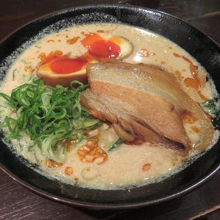 白ごま豆乳担担麺全部のせ(担担麺×夢azito 烏丸店 )