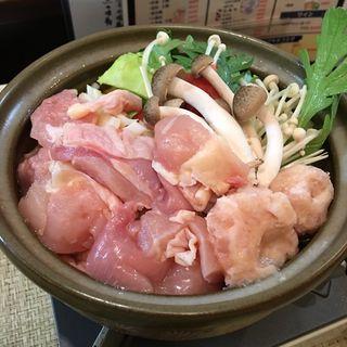 鶏の梅肉小鍋(六花 (ロッカ))