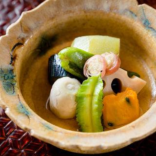 季節野菜の煮つけ(藤久 (ふじきゅう))