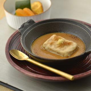 湯葉餅の味噌和え(しち十二候 丸の内一丁目店 )