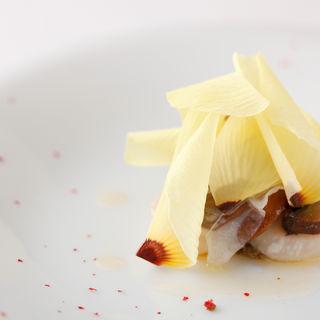 大根とさつま芋の煮つけ(イルバンビナッチョ )