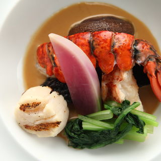 鮮魚のスープ仕立て(リストランテ アル ケントーレ (RISTORANTE AL KENTRE))