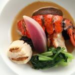 鮮魚のスープ仕立て