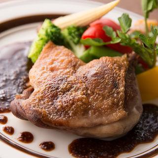 鶏モモ肉のグリル