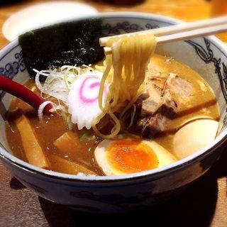 味玉らーめん(麺や 六三六 茶屋町店 )