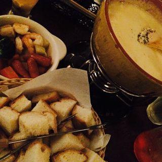チーズフォンデュ(REAL DINING CAFE リアルダイニングカフェ)