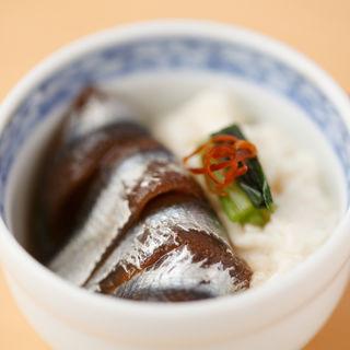 アジの小丼(銀座ありそ)
