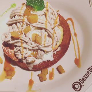 塩キャラメルモンブラン(ディキシーダイナー 練馬店 (Dexee Diner))