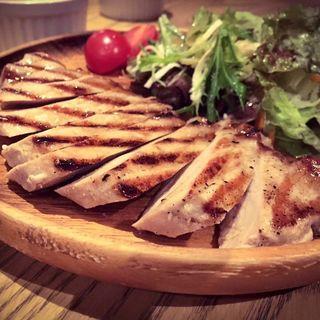 豚ロースのメープルシロップ焼き(バスストップカフェ)