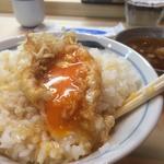 玉子天ぷら定食(天すけ (てんすけ))