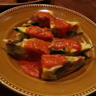 野菜のフリッタータ(en)