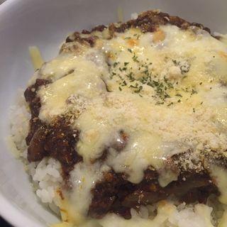 焼きチーズナスカレー(香味亭尾和)