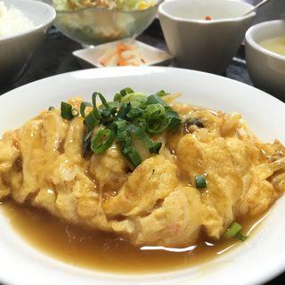 かに玉(999小籠包 (サンキューショウロンポウ))