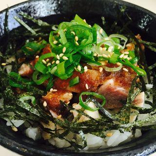 刻みチャーシューごはん〜鶏豚MIX〜(麺処 いつか )