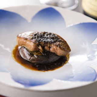 フォアグラとシイタケのロッシーニ(鉄板焼 いちか )