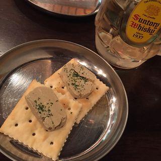 カニ味噌バター(焼とん あかし )
