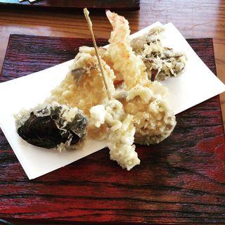 天ぷら(逢とり縁 (季節料理 天ぷら))