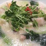 野菜たっぷり参鶏湯ラーメン(Vegeけなりぃ ecute品川South店 (ベジケナリイ))