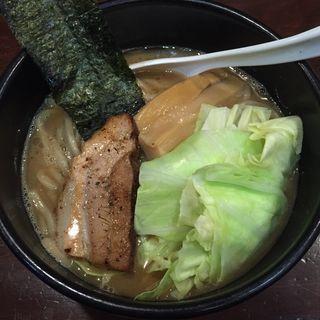 濃厚豚骨和風醤油ラーメン(めん屋 いなば (めんやいなば))