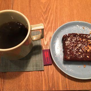 コーヒー/ガトーショコラ(ポノポノ食堂 )