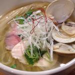 【限定】蛤と鶏の清湯