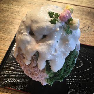 ひなまつり氷(和kitchen かんな (和キッチン かんな))