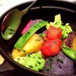 季節の彩り温野菜