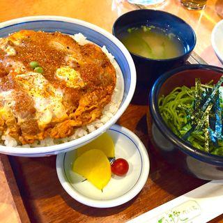 かつ丼セット(石挽)